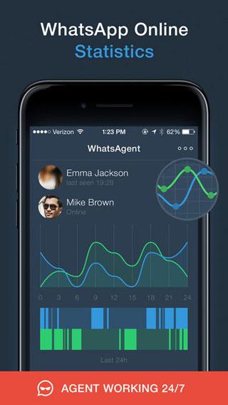 تطبيق Agent for WhatsApp – قم بمتابعة واحصل على إحصائيات حسابات واتس آب