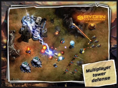 لعبة Age of Defenders لمحبي الالعاب الاستراتيجية