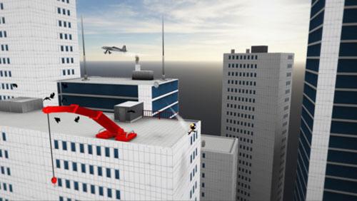 لعبة Stickman Base Jumper 2 تحدي القفز في المدينة