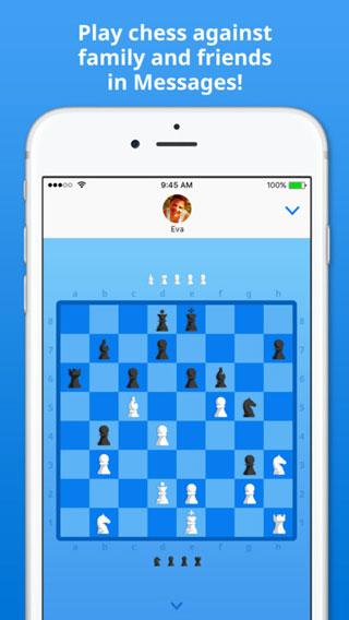لعبة Checkmate إضافة إلى تطبيق اي-مسج