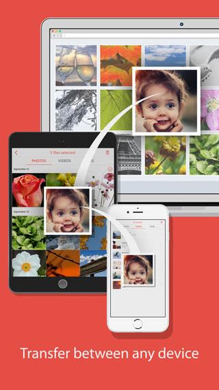 تطبيق FotoSwipe لنقل الملفات بين جميع الأجهزة بسرعة وسهولة