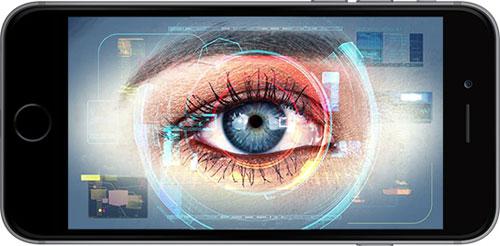 ميزة التعرف على العين في الأيفون 8