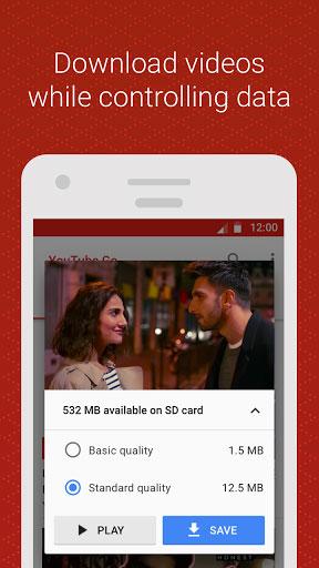 تطبيق Youtube Go لمشاهدة يوتوب دون اتصال انترنت