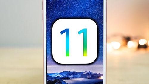 الكشف عن إصدار iOS 11