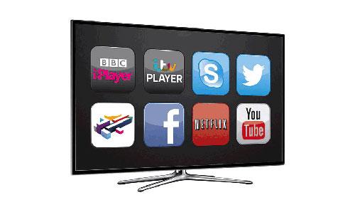 أجهزة التلفاز الذكية