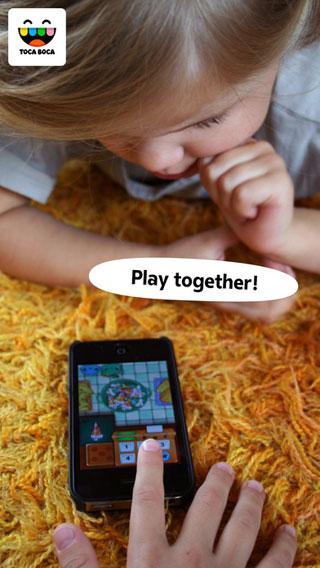 تطبيق Toca Store التعليمي للأطفال