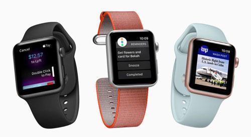 الإعلان عن الإصدار الجديد watchOS 4