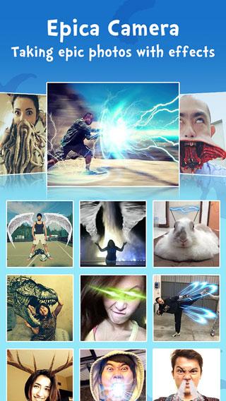 تطبيق Epica Pro لتحويل صورك إلى أساطير