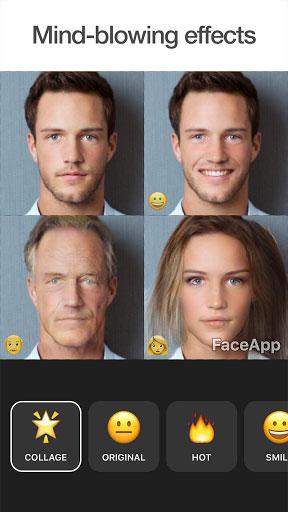 تطبيق FaceApp لتعديل الوجوه بالذكاء الاصطناعي