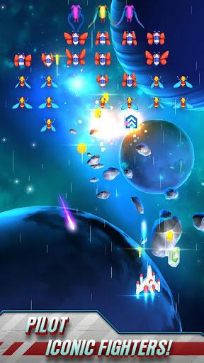لعبة Galaga Wars الكلاسيكية بطريقة عرض عصرية