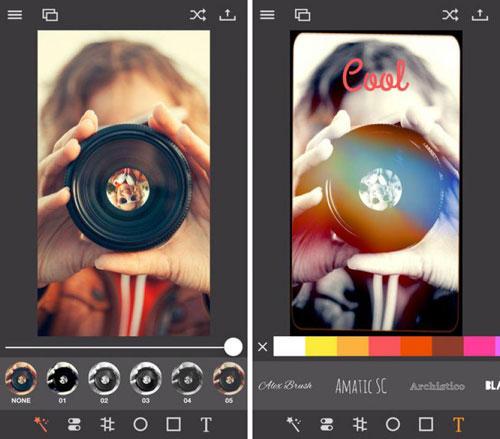 تطبيق Pixagram لتحرير وتعديل الصور