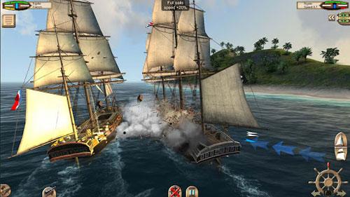 لعبة The Pirate: Caribbean Hunt لمحبي حروب السفن