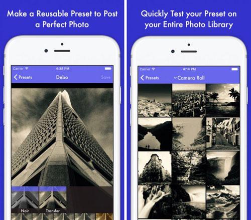 تطبيق Preset لتحرير وتعديل الصور