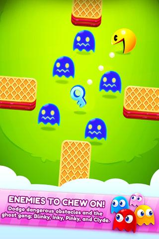 لعبة PAC-MAN Bounce أيضا من الألعاب القديمة في قالب جديد