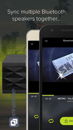 مميزات تطبيق AmpMe - سرعة البث و المزامنة