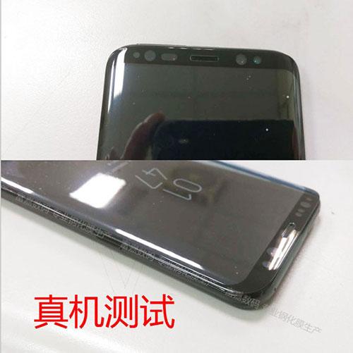 صور مسربة - هذا هو هاتف جالكسي إس 8 المنتظر !