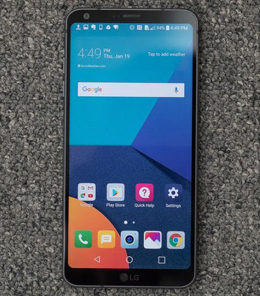 مميزات هاتف LG G6 : الشاشة