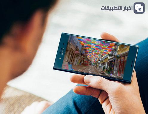 هاتف Sony Xperia XZ Premium : الشاشة بدقة 4K