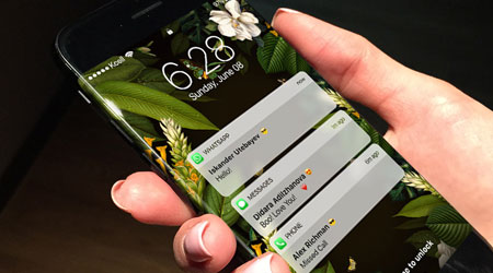 فيديو وصور - تصميم تخيلي لجهاز الأيفون 8 مع شاشة منحنية !