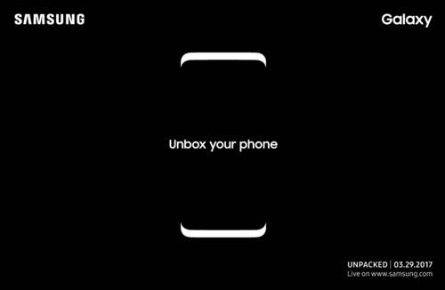 سامسونج تحدد رسميا موعد الإعلان عن Galaxy S8