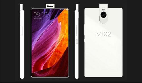 صورة تخيلية لهاتف Xiaomi Mi Mix 2