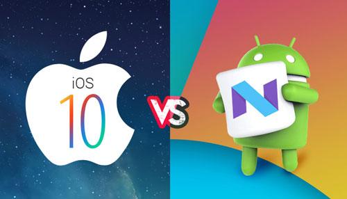 للنقاش - iOS 10 ضد أندرويد 7 - أيهما أفضل بالنسبة لك ؟