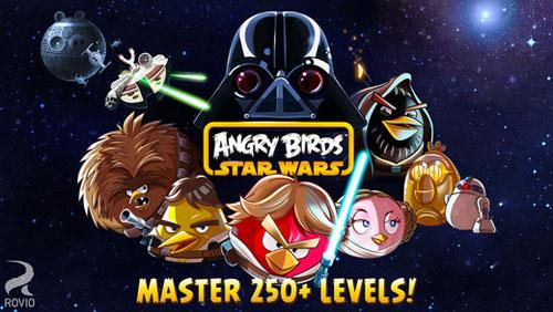 لعبة Angry Birds Star Wars الشهيرة متوفر الآن