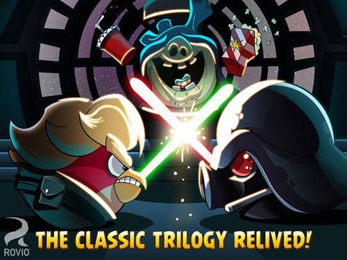 لعبة Angry Birds Star Wars HD نسخة الآيباد