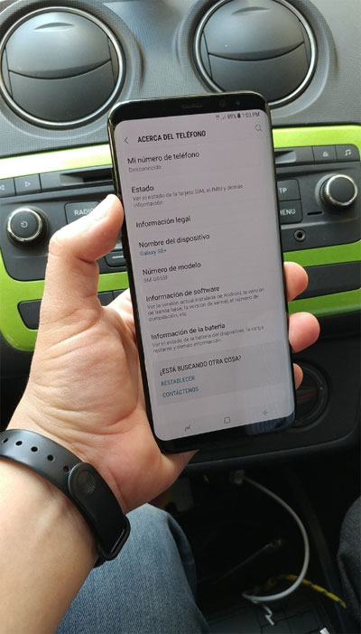 تسريب صورة حقيقية لهاتف جالكسي S8 بلس - ما رأيكم به ؟