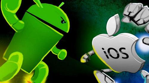 صراع الأندرويد و iOS