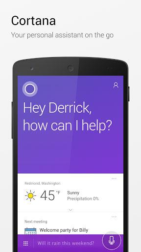 تطبيق Cortana المساعد الصوتي الذكي من مايكروسوفت