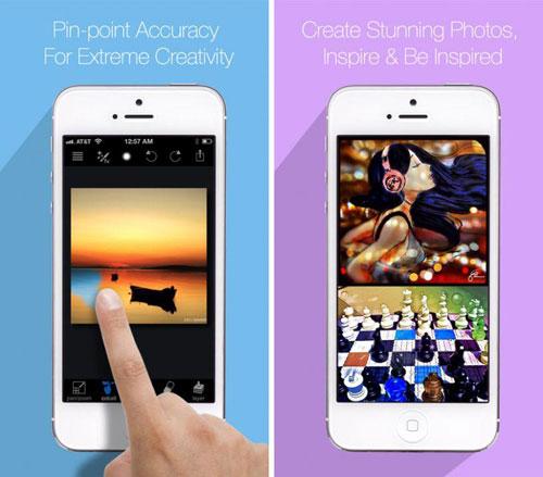 تطبيق Paint FX رسام ومحرر صور بمزايا احترافية