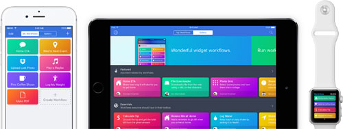 قصة نجاح - لماذا استحوذت ابل على تطبيق Workflow من تطوير شباب صغار؟