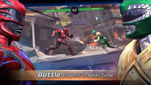 لعبة Power Rangers: Legacy Wars لمحبي قتال الخيال