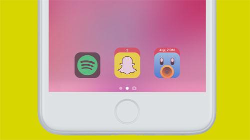 قائمة التطبيقات المفضلة في شاشة القفل مع iOS 11
