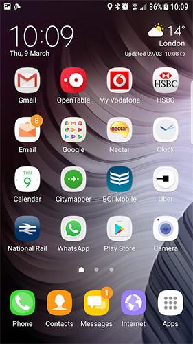 تحديث Android 7 Nougat لهواتف جالكسي S6 و جالكسي S6 Edge