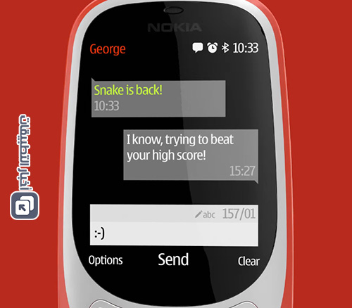 هاتف Nokia 3310 الجديد : البطارية طويلة العمر كالعادة !