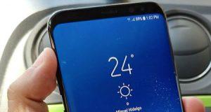 قبل الاعلان مساء اليوم - تسريب صورة حقيقية لهاتف جالكسي S8 بلس - ما رأيكم به ؟