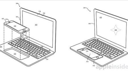 براءة اختراع - آبل تعمل على دمج الأيفون مع الماك بوك