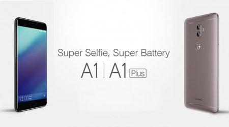 Photo of الإعلان عن هاتفي Gionee A1 Plus و Gionee A1 – المواصفات و السعر !