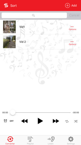 تطبيق مكس فيديو تيوب للتعرف على الصوتيات وتحويل الفيديو إلى MP3
