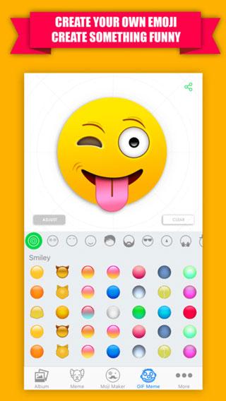 تطبيق Emoji Maker لتصميم الإيموجي والحصول على آلاف الصور المتحركة – مجانا