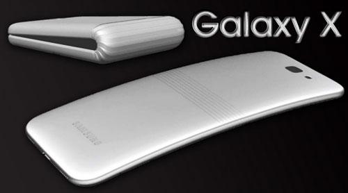 تسريب - سامسونج ستقوم بإطلاق Galaxy X ذو الشاشة القابلة للطي