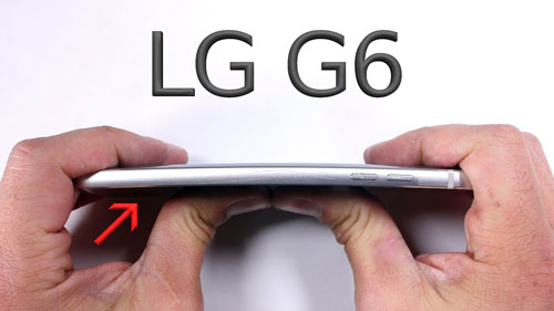 اختبار صلابة هاتف LG G6 - هل هو صلب أم ضعيف ؟