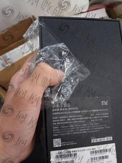 هاتف Xiaomi Mi 6 سيحمل كاميرا بدقة 30 ميغابيكسل