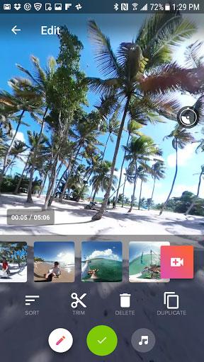 تطبيق V360 لتحرير ومونتاج مقاطع فيديو بطريقة عرض 360 درجة