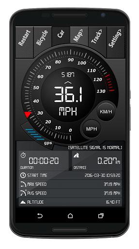 تطبيق Digital Dashboard GPS Pro لمعرفة سرعتك