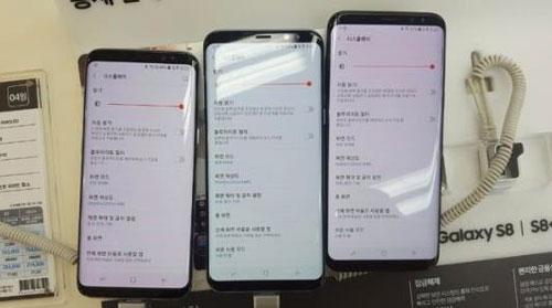 ما حقيقة مشكلة الشاشة الحمراء في هاتف جالاكسي S8 ؟