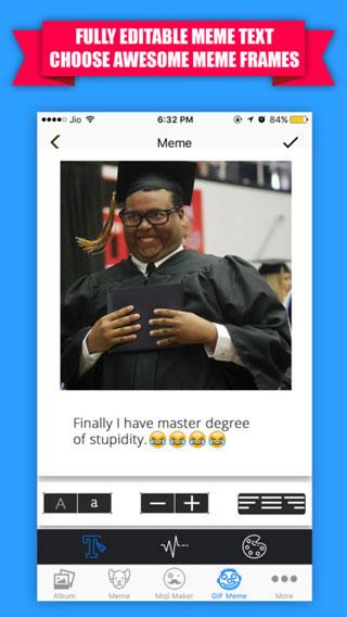 تطبيق Emoji Maker لتصميم الإيموجي والحصول على آلاف الصور المتحركة
