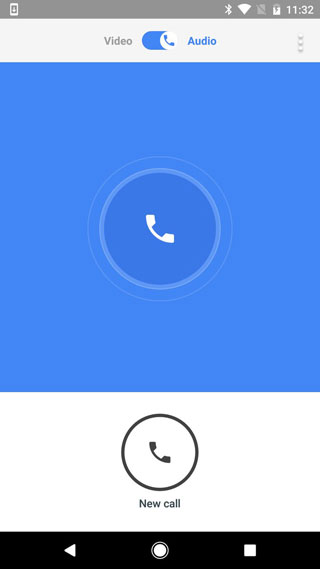 تحديث تطبيق Google Duo لدعم المحادثات الصوتية